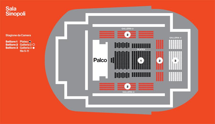 Auditorium parco della musica rome upcoming classical for Auditorium parco della musica sala santa cecilia