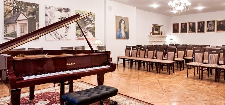 Chopin Konzerte in der Chopin Konzerthalle